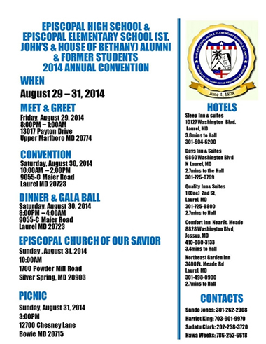 2014 Convention Information