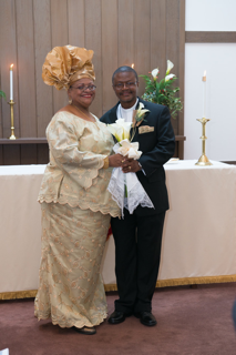 Rev. Fr. John Edgar Freeman and Dr. Deborah Harmon Hines