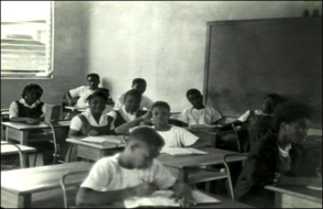 A primary-school classroom before the war