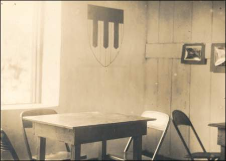 Classroom in old hospital
